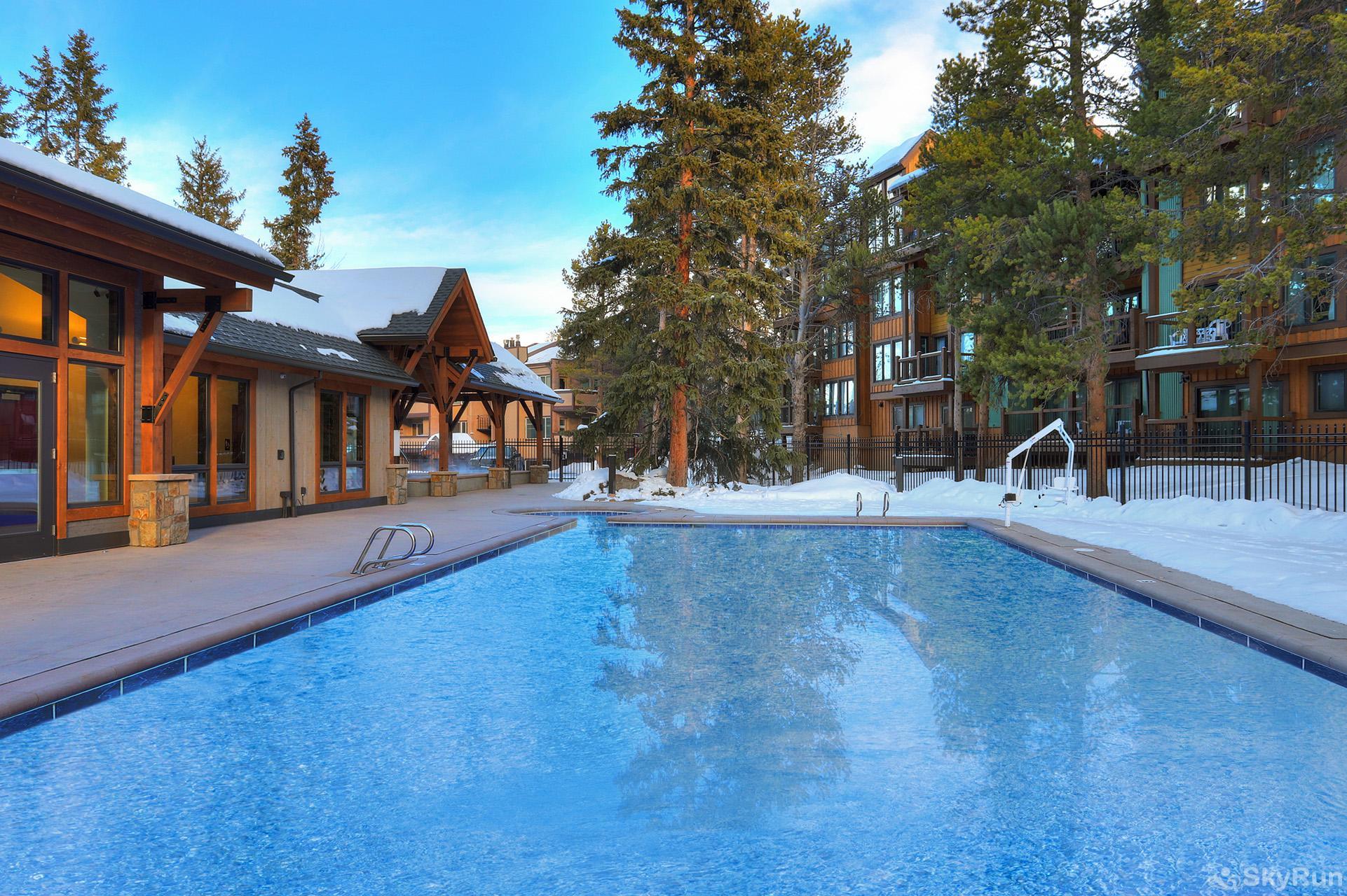 Tannenbaum Outdoor.2br Breckenridge Condo Top Floor Vaulted Ceilings Pool Hot